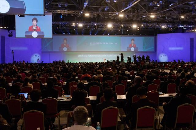 2014 ITU 전권회의 폐막식. - 미래창조과학부 제공